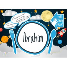 Personalized Placemats - Preorder (Expected Delivery: within 2 weeks for karachi)