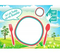 Personalized Placemats - Preorder (Expected Delivery: 1st week of Feb)